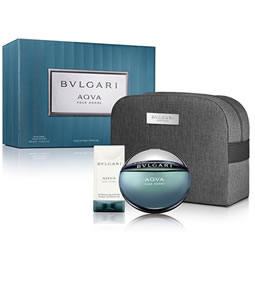 BVLGARI AQVA POUR HOMME GIFT SET FOR MEN