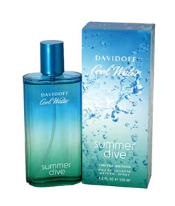 DAVIDOFF COOL WATER SUMMER DIVE EDT FOR MEN