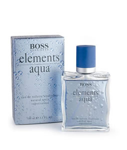 HUGO BOSS ELEMENTS AQUA EDT FOR MEN