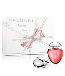 BVLGARI OMNIA CRYSTALLINE & OMNIA CORAL GIFT SET FOR WOMEN