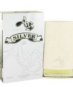 LOMANI AB SPIRIT SILVER EDT FOR MEN