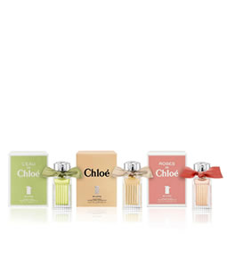 CHLOE 3 PCS MINIATURE GIFT SET FOR WOMEN