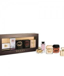 GUCCI PARFUMS 2014 5 PCS MINIATURE GIFT SET FOR WOMEN