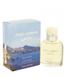 D&G DOLCE & GABBANA LIGHT BLUE DISCOVER VULCANO POUR HOMME EDT FOR MEN