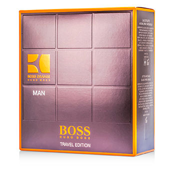 HUGO BOSS BOSS ORANGE MAN COFFRET 3PCS GIFT SET FOR MEN