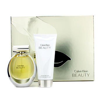 CALVIN KLEIN BEAUTY COFFRET 2PCS GIFT SET FOR WOMEN