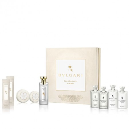 BVLGARI EAU PARFUMEE AU THE BLANC GIFT SET FOR UNISEX