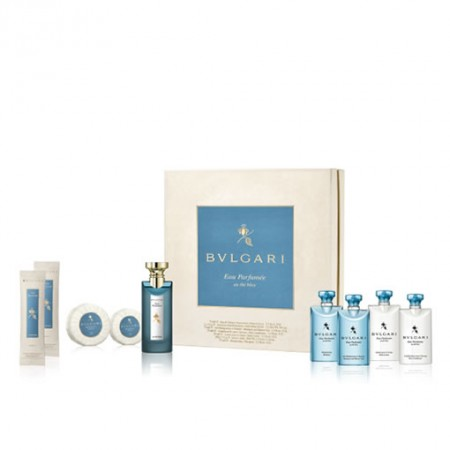 BVLGARI EAU PARFUMEE AU THE BLEU GIFT SET FOR UNISEX