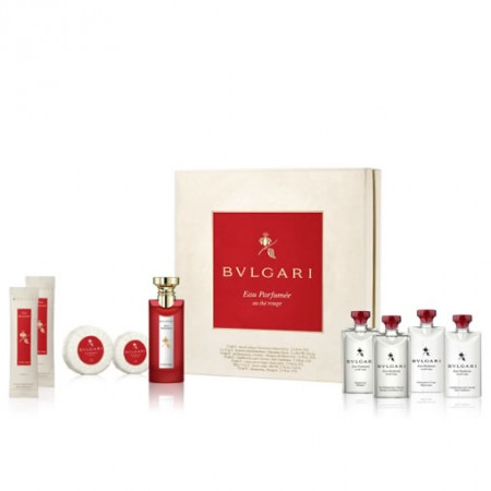 BVLGARI EAU PARFUMEE AU THE ROUGE GIFT SET FOR UNISEX