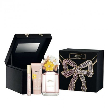 MARC JACOBS DAISY EAU SO FRESH COSMETIC BOX GIFT SET FOR WOMEN