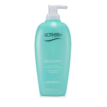 BIOTHERM BIOSOURCE HYDRA-MINERAL LOTION TONING WATER WITH BALANCING ZINC (FOR N/C SKIN) 400ML/13.52OZ