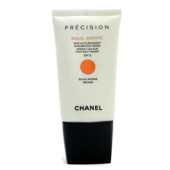 CHANEL SOLEIL IDENTITE PERFECT COLOUR FACE SELF TANNER SPF 8 - INTENSE (BRONZE) 50ML/1.7OZ