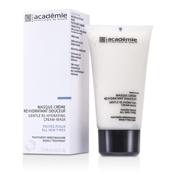 ACADEMIE 100PERCENT HYDRADERM GENTLE RE-HYDRATING CREAM MASK 75ML/2.5OZ