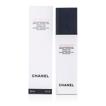 CHANEL LAIT DOUCEUR CLEANSING MILK FACE & EYES 150ML/5OZ