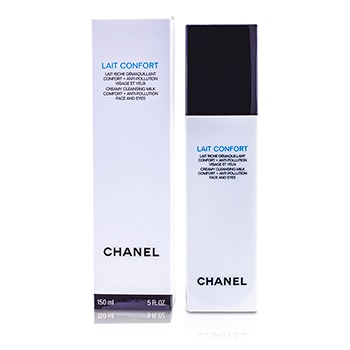 CHANEL LAIT CONFORT CREAMY CLEANSING MILK FACE & EYES 150ML/5OZ