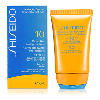 SHISEIDO PROTECTIVE TANNING CREAM N SPF 10 (FOR FACE) 50ML/1.7OZ