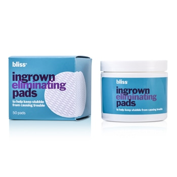 BLISS INGROWN HAIR ELIMINATING PEELING PADS 50PADS