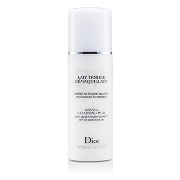 CHRISTIAN DIOR GENTLE CLEANSING MILK (FOR DRY/ SENSITIVE SKIN) 200ML/6.7OZ