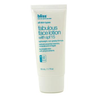 BLISS FABULOUS FACE LOTION WITH SPF 15 50ML/1.7OZ