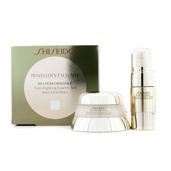 SHISEIDO BIO PERFORMANCE TIME FIGHTING PROGRAM: ADVANCED SUPER REVITALIZER CREAM + SUPER EYE CONTOUR CREAM 2PCS