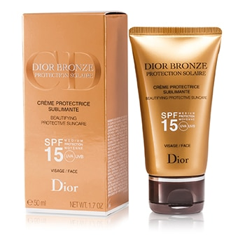 CHRISTIAN DIOR DIOR BRONZE BEAUTIFYING PROTECTIVE SUNCARE SPF 15 FOR FACE 50ML/1.7OZ