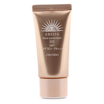 SHISEIDO ANESSA FACE SUNSCREEN BB  LIGHT SPF 50+ PA+++ 30G/1OZ