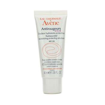 AVENE ANTIROUGEURS REDNESS-RELIEF MOISTURIZING PROTECTING EMULSION SPF 20 (FOR NORMAL TO COMBINATION SENSITIVE SKIN) 40ML/1.35OZ