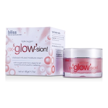 BLISS TRIPLE OXYGEN EX-GLOW-SION VITABEAD-INFUSED MOISTURE CREAM 48G/1.7OZ