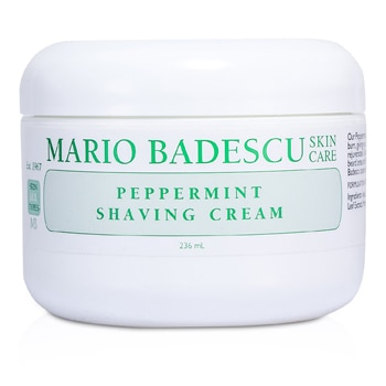 MARIO BADESCU PEPPERMINT SHAVING CREAM 236ML/8OZ