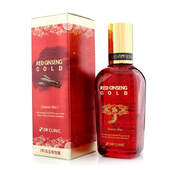 3W CLINIC RED GINSENG GOLD ESSENCE SKIN 145ML/4.9OZ