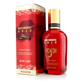 3W CLINIC RED GINSENG GOLD ESSENCE EMULSION 145ML/4.9OZ