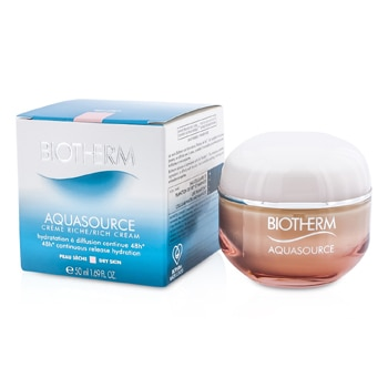 BIOTHERM AQUASOURCE 48H CONTINUOUS RELEASE HYDRATION RICH CREAM (DRY SKIN) 50ML/1.69OZ