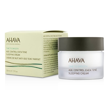 AHAVA TIME TO SMOOTH AGE CONTROL EVEN TONE SLEEPING CREAM 50ML/1.7OZ