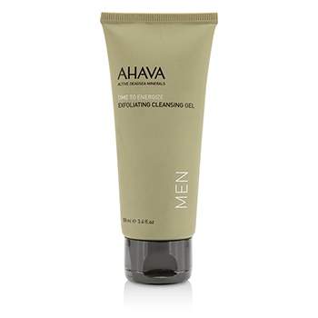 AHAVA TIME TO ENERGIZE EXFOLIATING CLEANSING GEL (UNBOXED) 100ML/3.4OZ