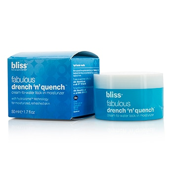 BLISS FABULOUS DRENCH N QUENCH CREAM-TO-WATER LOCK-IN MOISTURIZER 50ML/1.7OZ