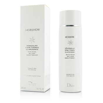 CHRISTIAN DIOR DIORSNOW WHITE REVEAL MELT-AWAY MAKEUP REMOVER - FOR FACE & EYES 200ML/6.7OZ