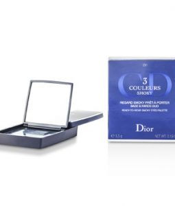 CHRISTIAN DIOR 3 COULEURS SMOKY READY TO WEAR EYES PALETTE - # 291 SMOKY NAVY 5.5G/0.19OZ