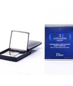 CHRISTIAN DIOR 3 COULEURS SMOKY READY TO WEAR EYES PALETTE - # 051 SMOKY PINK 5.5G/0.19OZ