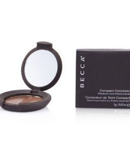 BECCA COMPACT CONCEALER MEDIUM & EXTRA COVER - # CHOCOLATE 3G/0.07OZ