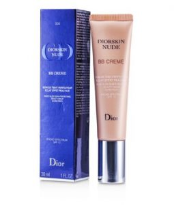 CHRISTIAN DIOR DIORSKIN NUDE BB CREME NUDE GLOW SKIN PERFECTING BEAUTY BALM SPF 10 - # 004 (DARK) 30ML/1OZ