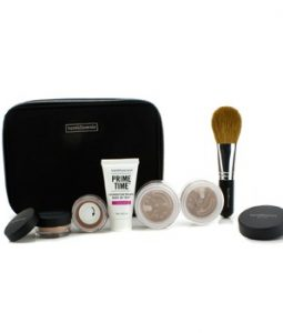 BAREMINERALS BAREMINERALS GET STARTED COMPLEXION KIT FOR FLAWLESS SKIN - # MEDIUM TAN 6PCS+1CLUTCH