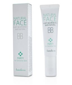 BANILA CO. NATURAL FACE PURITY BB SPF35 (FOR SENSITIVE SKIN) - BARE NATURAL 30ML/1OZ
