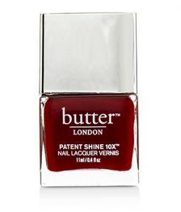 BUTTER LONDON PATENT SHINE 10X NAIL LACQUER - # HER MAJESTYS RED 11ML/0.4OZ