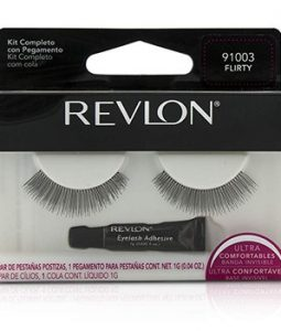 REVLON FALSE EYELASHS (ADHESIVE INCLUDED) - FLIRTY -