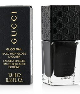 GUCCI BOLD HIGH GLOSS NAIL LACQUER - #240 ICONIC BLACK 10ML/0.33OZ