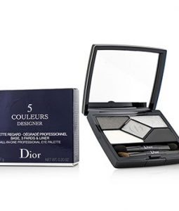 CHRISTIAN DIOR 5 COLOR DESIGNER ALL IN ONE PROFESSIONAL EYE PALETTE – NO.  008 SMOKY DESIGN 5.7G 0.2OZ 2af6dca13b6