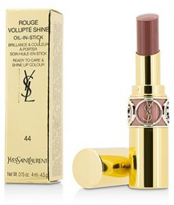 YVES SAINT LAURENT ROUGE VOLUPTE SHINE OIL IN STICK - # 44 NUDE LAVALLIERE 4.5G/0.15OZ