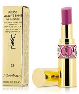 YVES SAINT LAURENT ROUGE VOLUPTE SHINE OIL IN STICK - # 52 TRAPEZE PINK 4.5G/0.15OZ