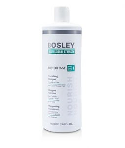 BOSLEY PROFESSIONAL STRENGTH BOS DEFENSE NOURISHING SHAMPOO (FOR NORMAL TO FINE NON COLOR-TREATED HAIR) 1000ML/33.8OZ