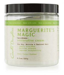 CAROL'S DAUGHTER MARGUERITES MAGIC HAIRDRESS RESTORATIVE CREAM (FOR DRY, BRITTLE & TEXTURED HAIR) 226G/8OZ
